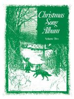 Christmas Song Album (Green) Volume 2 Sheet Music