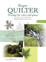 Roger Quilter - 18 Songs For Voice And Piano Sheet Music
