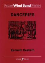 Danceries For Symphonic Wind Band Sheet Music