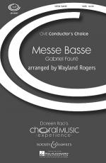 Messe Basse Cme Conductor's Choice Sheet Music Sheet Music