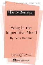Song In The Imperative Mood Sheet Music Sheet Music
