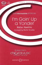 I'm Goin' Up A Yonder Cme Gospel Music Experience Sheet Music