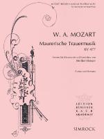 Maurerische Trauermusik, K. 477 Score And Parts Sheet Music