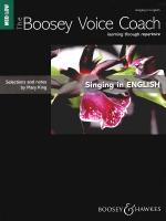 The Boosey Voice Coach: Singing In English - Medium/Low Voice Learning Through Repertoire Sheet Music