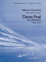 Danza Final (From Estancia) Sheet Music