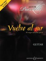 Vuelvo Al Sur 10 Tangos And Other Pieces Guitar Solo Sheet Music