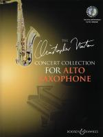 The Christopher Norton Concert Collection For Alto Saxophone With A CD Of Performances And Backing T Sheet Music