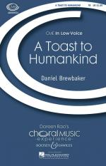 A Toast To Humankind Cme In Low Voice Sheet Music Sheet Music