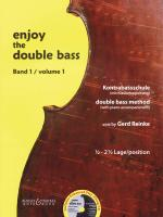 Enjoy The Double Bass Volume 1 (1.5-2.5 Position) Double Bass Method With Piano Accompaniment Book/C Sheet Music
