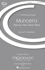 Munoera (Sanctus From Shona Mass) Cme Building Bridges Sheet Music Sheet Music
