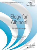 Elegy For Albinoni Windependence Series - Master Level (Grade 4) Sheet Music