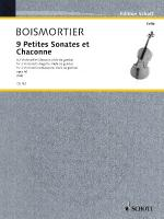 9 Little Sonatas And Chaconnes 2 Cellos Sheet Music