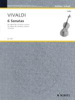 6 Sonatas For Violoncello (Cello) And Basso Continuo Sheet Music