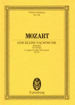 Eine Kleine Nachtmusik, Kv 525 Serenade In G Major Sheet Music