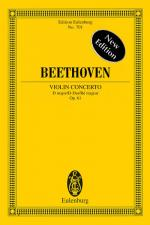 Violin Concerto In D Major, Opus 61 - New Edition Study Score Sheet Music