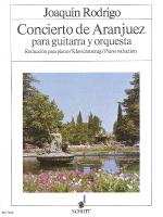 Concierto De Aranjuez Guitar With Piano Reduction Sheet Music