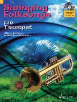 Swinging Folksongs Play-Along For Trumpet Book/CD With Piano Parts To Print Sheet Music