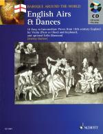 English Airs & Dances 16 Easy To Intermediate Pieces From 18th-Century England Violin (Flute Or Oboe Sheet Music