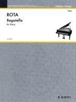 Bagatella Piano Sheet Music