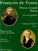 Three Grand Duos Volumes II & III - Based On The Works Of Haydn Sheet Music