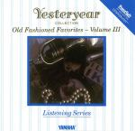 Old Fashioned Favorites - Volume III Sheet Music