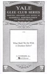 What Shall We Do With A Drunken Sailor ? Sheet Music Sheet Music