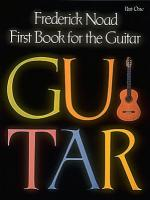 First Book For The Guitar - Part 1 Guitar Technique Sheet Music