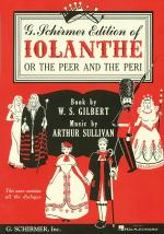 Iolanthe Vocal Score Sheet Music