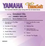 James Taylor - Greatest Hits Smart Pianosoft Sheet Music