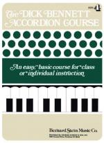 The Dick Bennett Accordion Course Book 4 Sheet Music