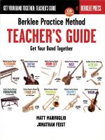 Berklee Practice Method: Teacher's Guide Get Your Band Together Sheet Music