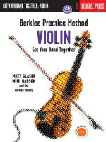 Berklee Practice Method: Violin Sheet Music