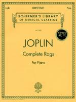 Joplin - Complete Rags For Piano Sheet Music