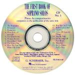 The First Book Of Soprano Solos Accompaniment CDs (Set Of 2) Sheet Music