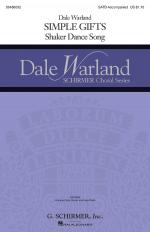 Simple Gifts Dale Warland Choral Series Sheet Music Sheet Music