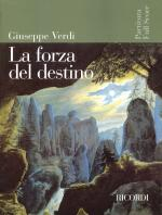 La Forza Del Destino Opera Full Score Sheet Music