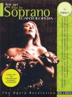 Arias For Soprano - Volume 5 Cantolopera Series Sheet Music