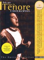 Arias For Tenor - Volume 5 Cantolopera Collection Sheet Music