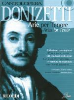 Donizetti Arias For Tenor Cantolopera Series Sheet Music