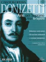 Donizetti Arias For Soprano Cantolopera Series Sheet Music