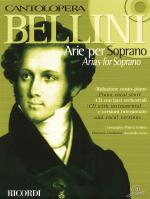 Bellini Arias For Soprano Cantolopera Series Sheet Music