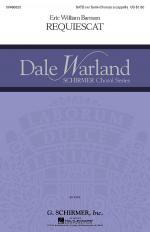 Requiescat Dale Warland Choral Series Sheet Music Sheet Music