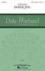 Dormi, Jesu Dale Warland Choral Series Sheet Music Sheet Music