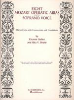 Mozart: Eight Operatic Arias For The Soprano Voice Voice And Piano Sheet Music