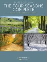 The Four Seasons Complete Transcribed For Flute And Piano By James Galway Flute And Piano Reduction Sheet Music