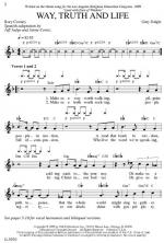Way, Truth And Life Sheet Music Sheet Music