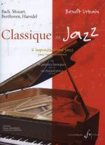 Classique Au Jazz Volume 1 Sheet Music