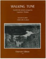 Walking Tune: Swedish Folk Tune Sheet Music