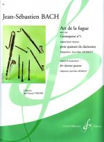Art De La Fugue - Contrepoint 1 BWV 1080 Sheet Music