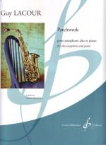 Patchwork - Pour Saxophone Alto Et Piano (For Alto Saxophone And Piano) Sheet Music